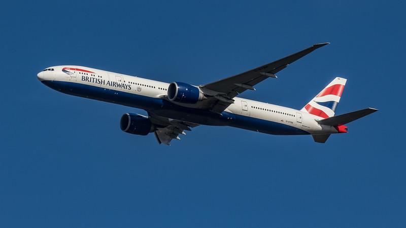 British Airways - Boeing 777-336(ER) (G-STBK) - Heathrow Airport (March 2020)