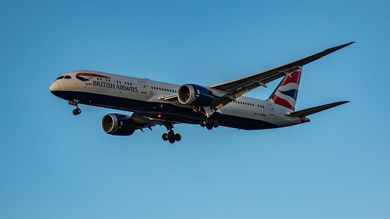 British Airways - Boeing 787-9 Dreamliner (G-ZBKM) - Heathrow Airport (March 2020)