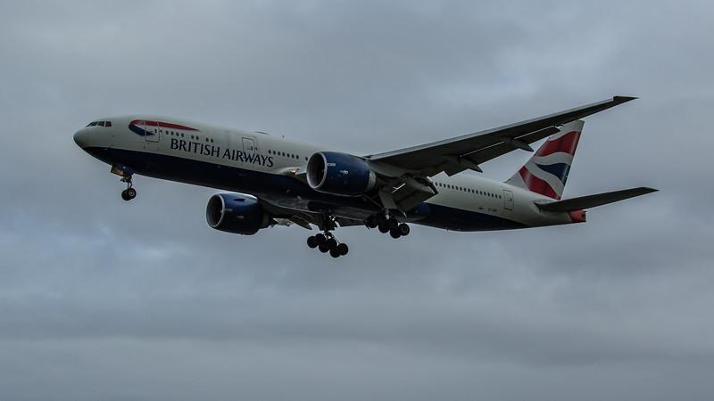 British Airways - Boeing 777-236(ER) (G-VIIF) - Heathrow Airport (February 2020)