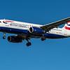 British Airways - Airbus A320-232 (G-EUYJ) - Heathrow Airport (March 2020)