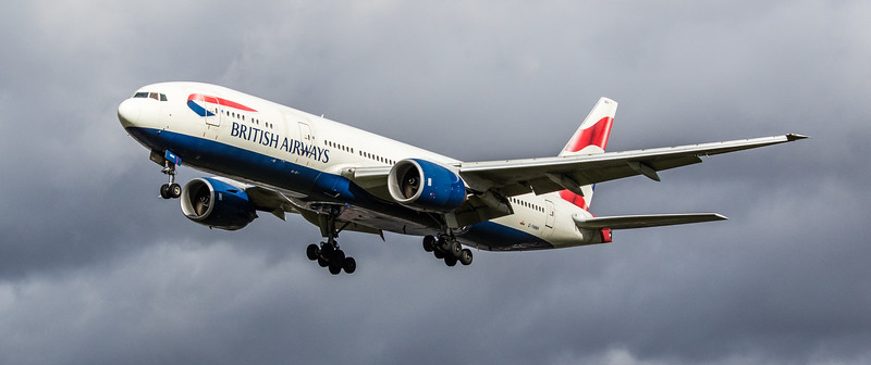 British Airways - Boeing 777-236(ER) (G-YMMH) - Heathrow Airport (March 2019)