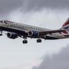 British Airways - Embraer E190-SR (G-LCYX) - Edinburgh Airport (March 2020)