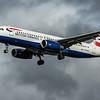 British Airways - Airbus A320-232 (G-EUUN) - Heathrow Airport (February 2020)