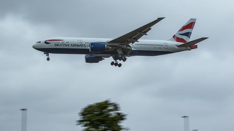 British Airways - Boeing 777-236(ER) (G-YMMJ) - Heathrow Airport (June 2020)