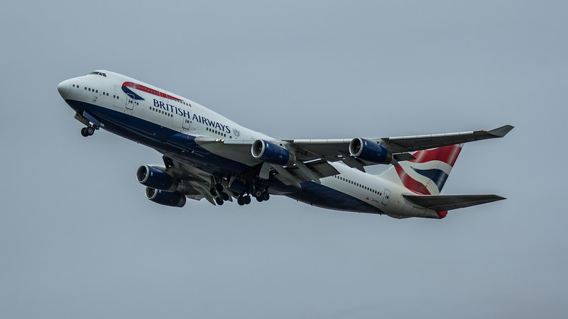 British Airways - Boeing 747-436 (G-CIVR) - Heathrow Airport (March 2020)