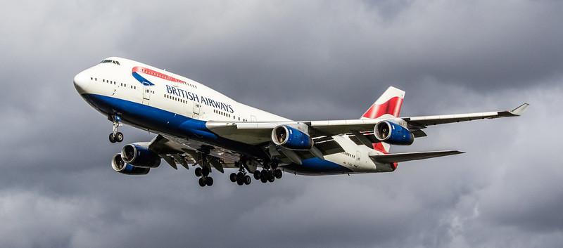 British Airways - Boeing 747-436 (G-CIVA) - Heathrow Airport (March 2019)