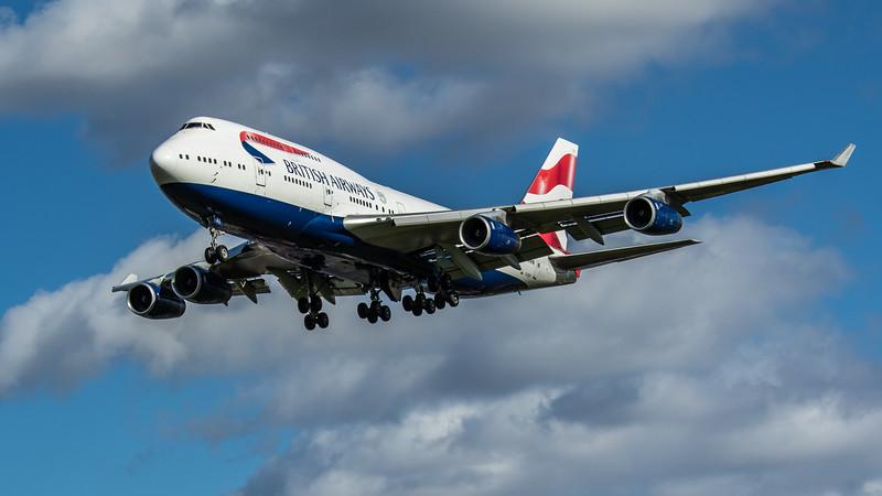 British Airways - Boeing 747-436 (G-CIVY) - Heathrow Airport (March 2020)