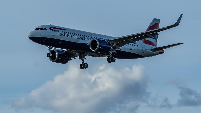 British Airways - Airbus A320-251N (G-TTNL) - Heathrow Airport (June 2020)