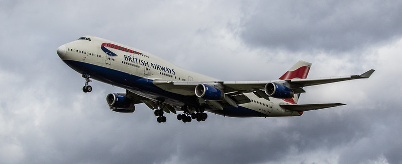 British Airways - Boeing 747-436 (G-BNLN) - Heathrow Airport (March 2019)