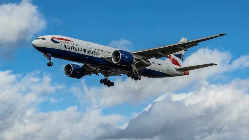 British Airways - Boeing 777-236(ER) (G-VIIG) - Heathrow Airport (March 2020)