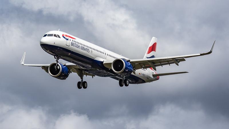 British Airways - Airbus A321-251NX (G-NEOY) - Heathrow Airport (June 2020)