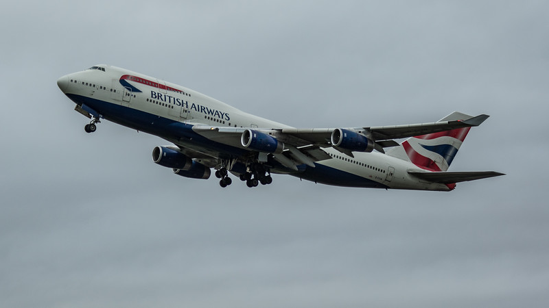 British Airways - Boeing 747-436 (G-CIVN) - Heathrow Airport (March 2020)