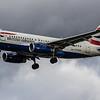British Airways - Airbus A319-131 (G-EUOG) - Heathrow Airport (March 2019)