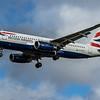 British Airways - Airbus A320-214 (G-EUYY) - Heathrow Airport (February 2020)