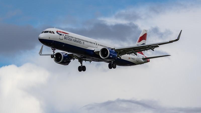 British Airways - Airbus A321-251NX (G-NEOR) - Heathrow Airport (March 2019)