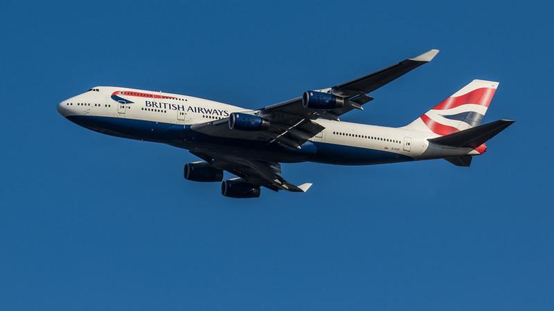 British Airways - Boeing 747-736 (G-CIVF) - Heathrow Airport (March 2020)