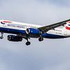 British Airways - Airbus A320-232 (G-EUUA) - Heathrow Airport (March 2019)