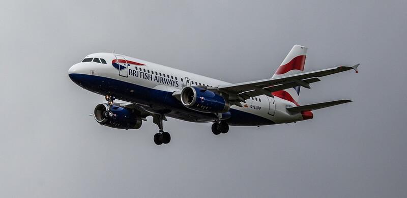 British Airways - Airbus A319-131 (G-EUPP) - Heathrow Airport (March 2019)