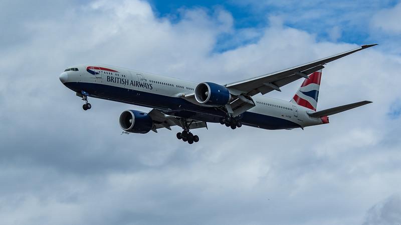 British Airways - Boeing 777-36N(ER) (G-STBE) - Heathrow Airport (June 2020)