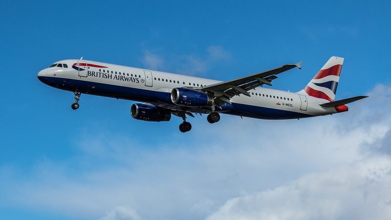British Airways - Airbus A321-231 (G-MEDL) - Heathrow Airport (February 2020)