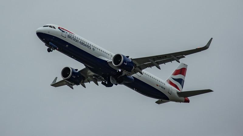 British Airways - Airbus A321-251NX (G-NEOW) - Heathrow Airport (March 2020)
