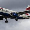 British Airways - Airbus A319-131 (G-EUOB) - Heathrow Airport (March 2019)