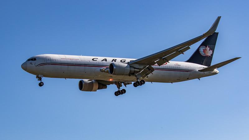 Cargojet Airways - Boeing 767-39H(ER)(BCF) (C-FGSJ) - Heathrow Airport (June 2021)