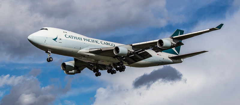 Cathay Pacific Cargo - Boeing 747-467F(ER) (B-LIE) - Heathrow Airport (March 2019)