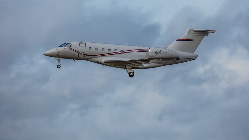 Centreline - Embraer Legacy 500- (G-TULI) - Edinburgh Airport (February 2020)