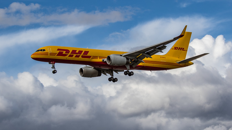 DHL - Boeing 757-223(PCF) (G-DHKS) - Heathrow Airport (August 2020)