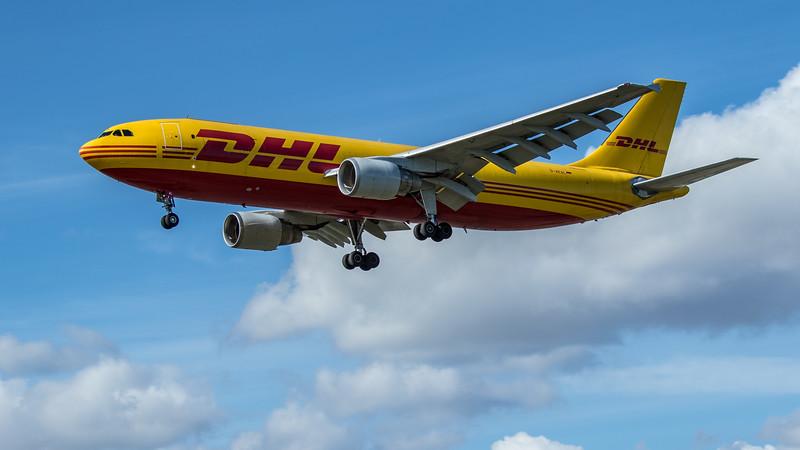 DHL - Airbus A300B4-622R(F) (D-AEAL) - Heathrow Airport (June 2020)