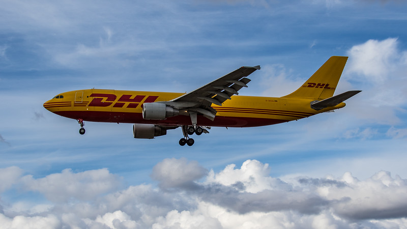 DHL - Airbus A300B4-622R(F) (D-AEAH) - Heathrow Airport (August 2020)