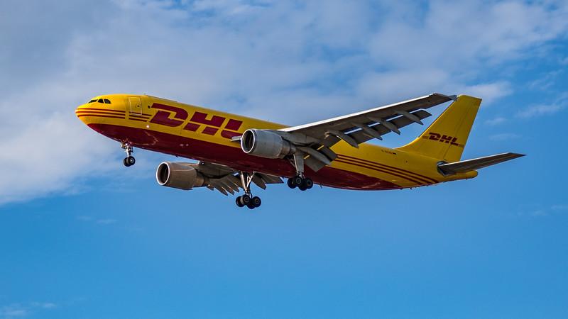 DHL - Airbus A300B4-622R(F) (D-AEAE) - Heathrow Airport (July 2020)