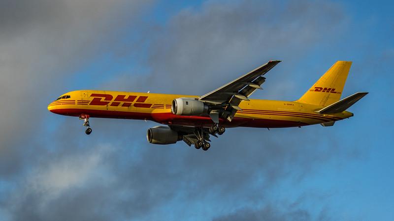 DHL - Boeing 757-236(SF) (G-BMRA) - Heathrow Airport (March 2020)