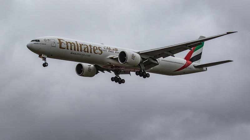 Emirates - Boeing 777-31H(ER) (A6-EPJ) - Heathrow Airport (June 2020)