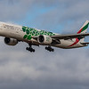 Emirates (Expo 2020 - Sustainability Livery)  - Boeing 777-300 (A6-EPF) - Edinburgh Airport (February 2020)