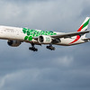Emirates (Expo 2020 - Sustainability Livery)  - Boeing 777-31H(ER) (A6-EPU) - Edinburgh Airport (February 2020)