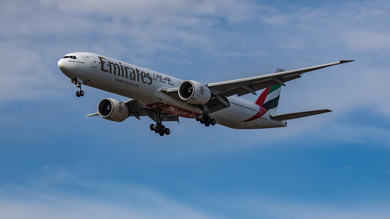 Emirates - Boeing 777-31H(ER) (A6-EPY) - Heathrow Airport (July 2020)