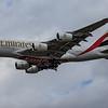 Emirates - Airbus A380-842 (A6-EVK) - Heathrow Airport (August 2020)