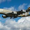 Etihad (ADNOC - Choose South Korea Livery)  - Airbus A380-861 (A6-APD) - Heathrow Airport (February 2020)
