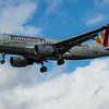 Eurowings - Airbus A319-112 (D-AKNR) - Heathrow Airport (March 2020)