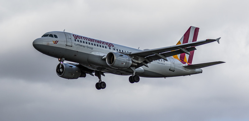 Eurowings - Airbus A319-100 (D-AKNJ) - Heathrow Airport (March 2019)