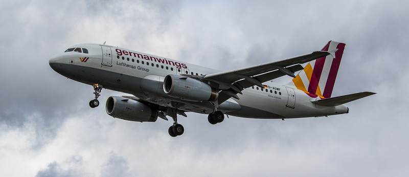 Eurowings - Airbus A319-132 (D-AGWF) - Heathrow Airport (March 2019)