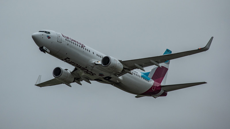Eurowings - Boeing 737-86J (D-ABKM) - Heathrow Airport (March 2020)