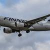 Finnair - Airbus A319-112 (OH-LVB) - Heathrow Airport (March 2019)