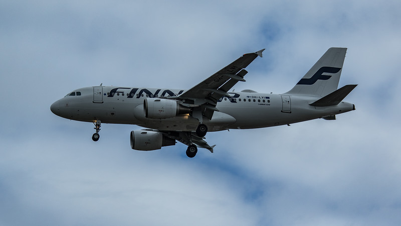 Finnair - Airbus A319-112 (OH-LVI) - Heathrow Airport (June 2020)