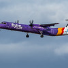 Flybe - De Havilland Canada Dash 8-400 (G-FLBD) - Edinburgh Airport (February 2020)