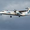 Flybe - De Havilland Canada Dash 8-400 (G-ECOF) - Edinburgh Airport (February 2020)