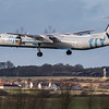 Flybe - De Havilland Canada Dash 8-400 (G-ECOT) - Edinburgh Airport (February 2020)