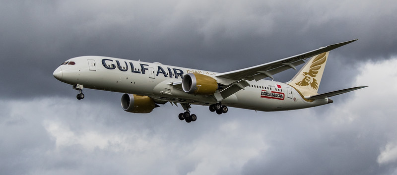 Gulf Air - Boeing 787-9 Dreamliner (A9C-FD) - Heathrow Airport (March 2019)
